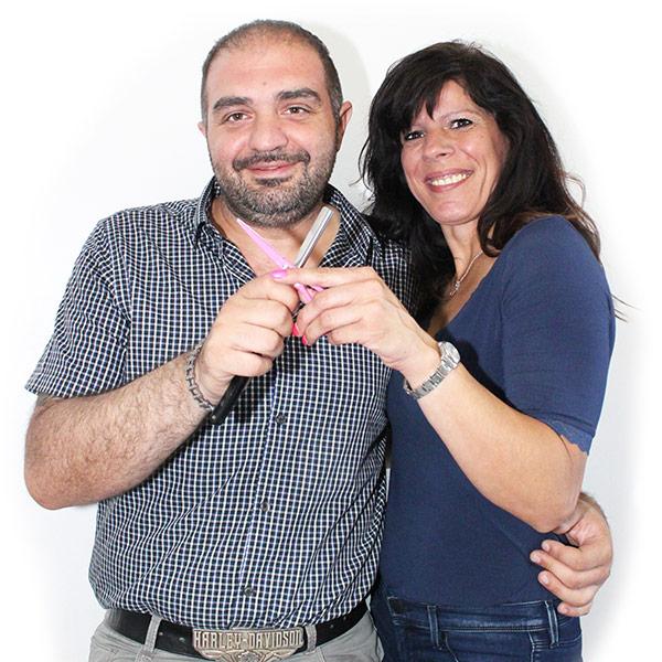 Davide Fogliano ed Emanuela Costa