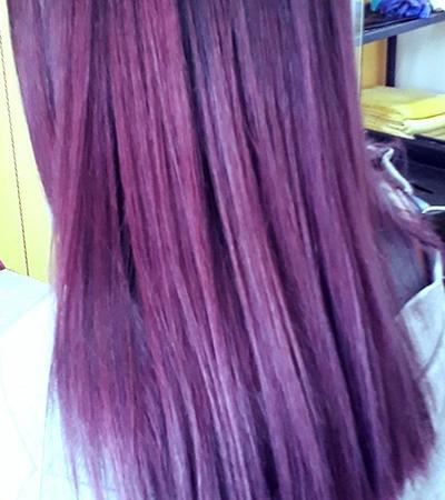 capelli viola castelseprio