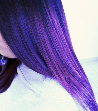 capelli viola varese