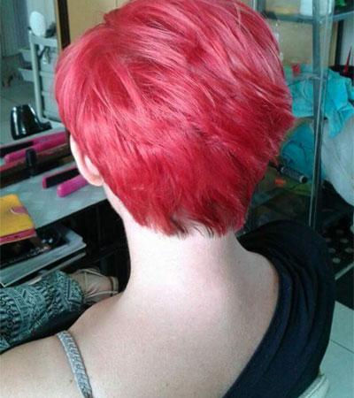 Tinta capelli rosa Tradate