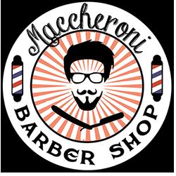 Logo maccheroni barber shop castelseprio